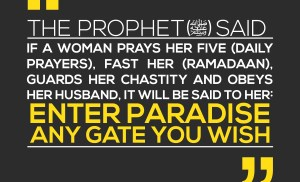 4 Things that Guarantee Women Jannah