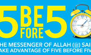 Take Advantage of Five before Five