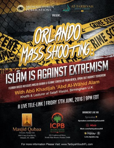 A concise lecture directed towards the non-Muslims and the Muslims in Florida
