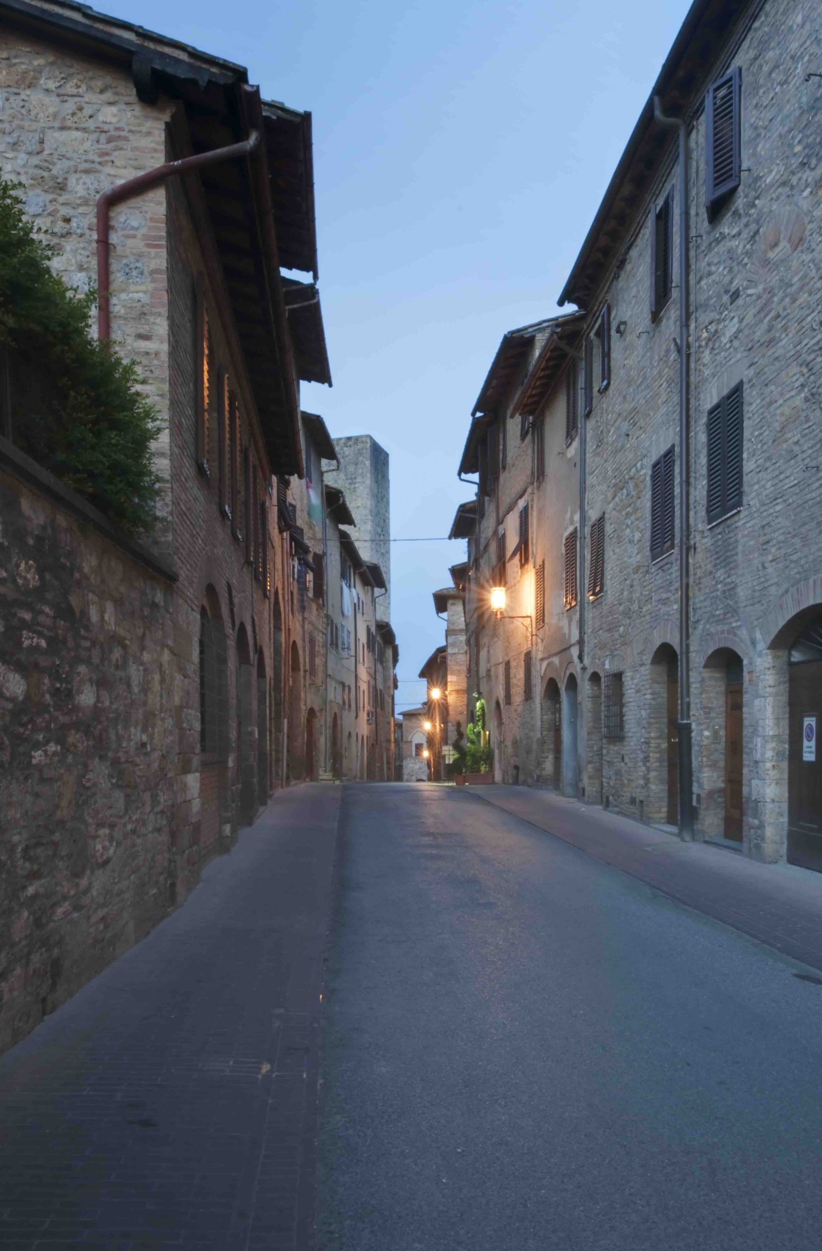 Tuscany, Italy,Medieval Street