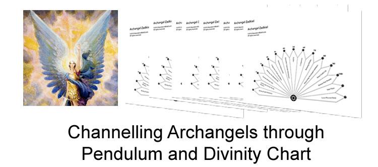 archangel pendulum chart series - top pendulum1 - Archangel Pendulum Chart Series