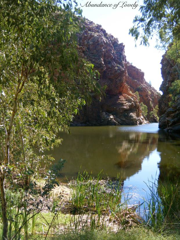 Ellery Creek Big Hole: Alice Springs, Northern Territory - Australia