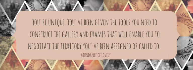 Unique Quote | Abundance of Lovely
