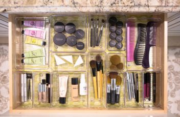 Organized Makeup Drawer