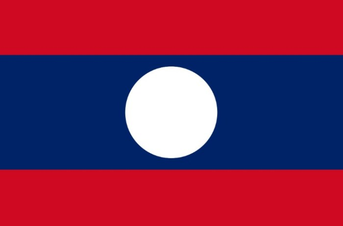 bendera laos