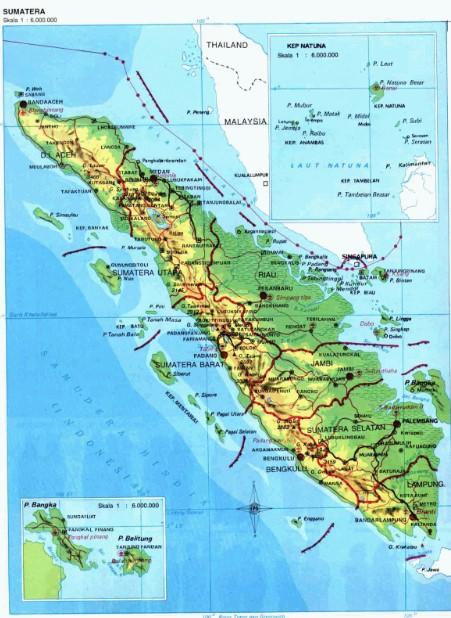 Provinsi di Sumatra