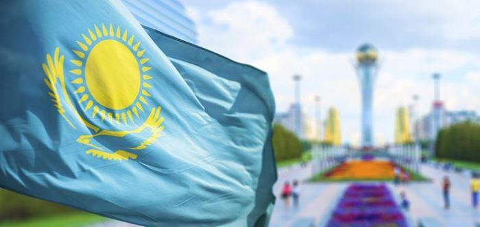 bendera kazakstan