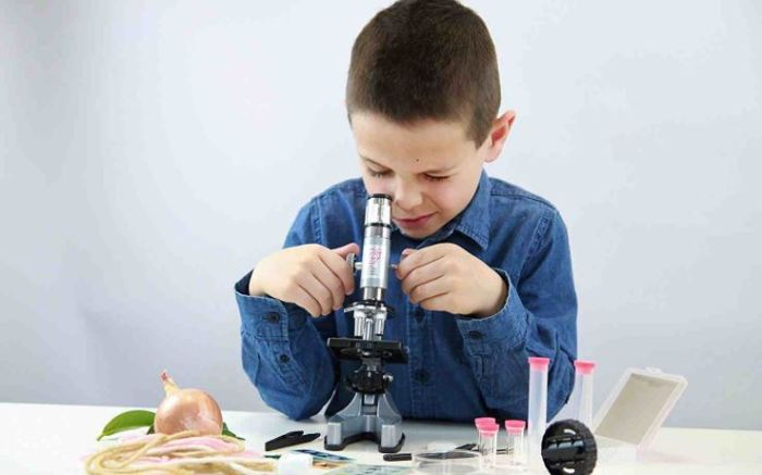 fungsi mikroskop