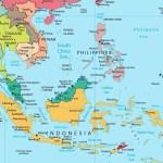 √ PETA ASEAN HD : Negara Negara Asean & Gambar Asia Tenggara Lengkap