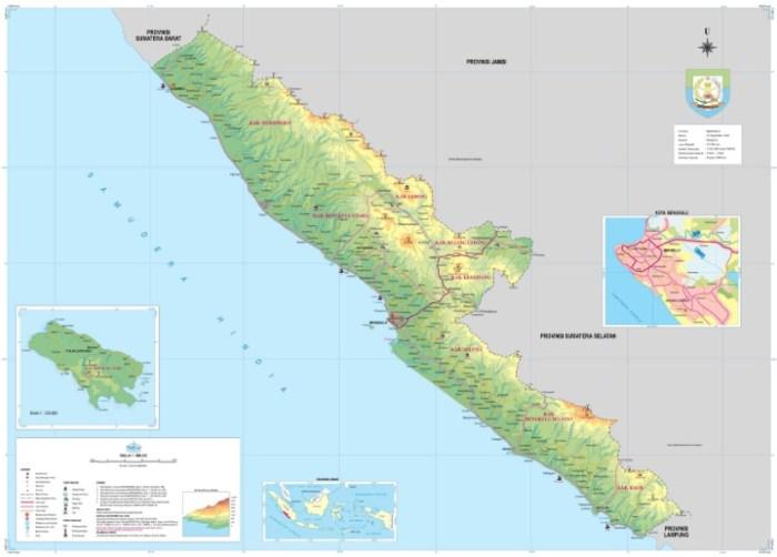 Peta Bengkulu