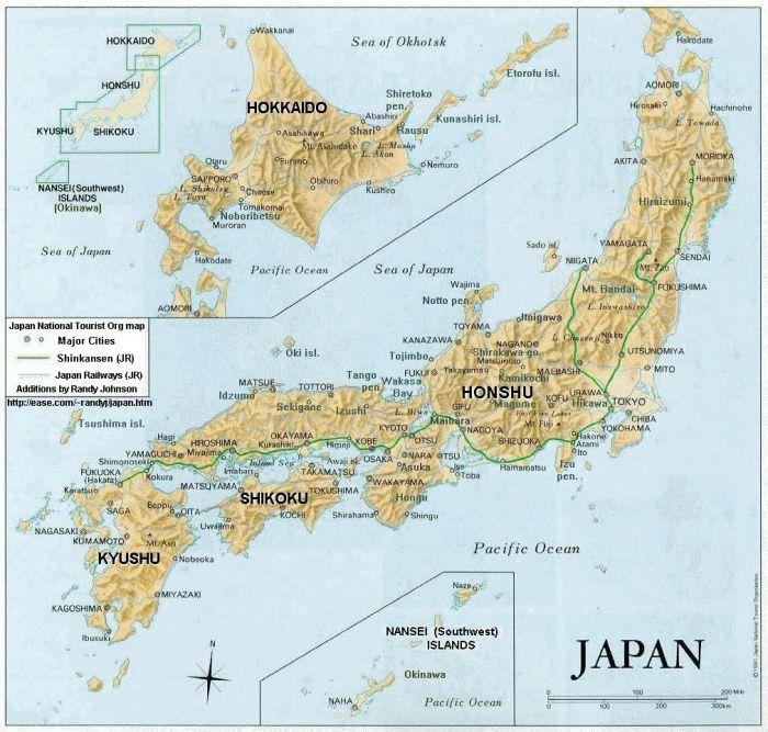 Peta Jepang HD