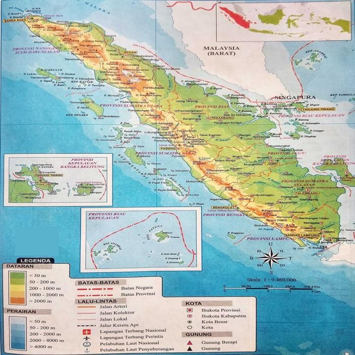 Peta Sumatra HD