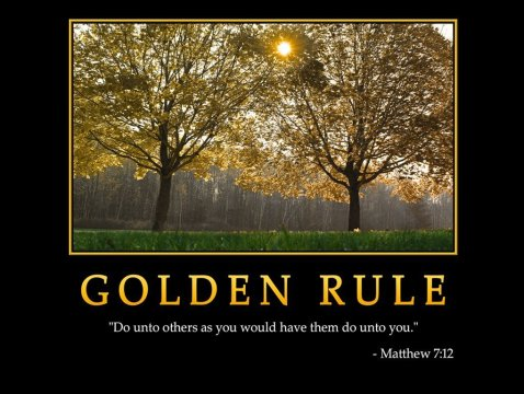 Cosmic Golden Rule