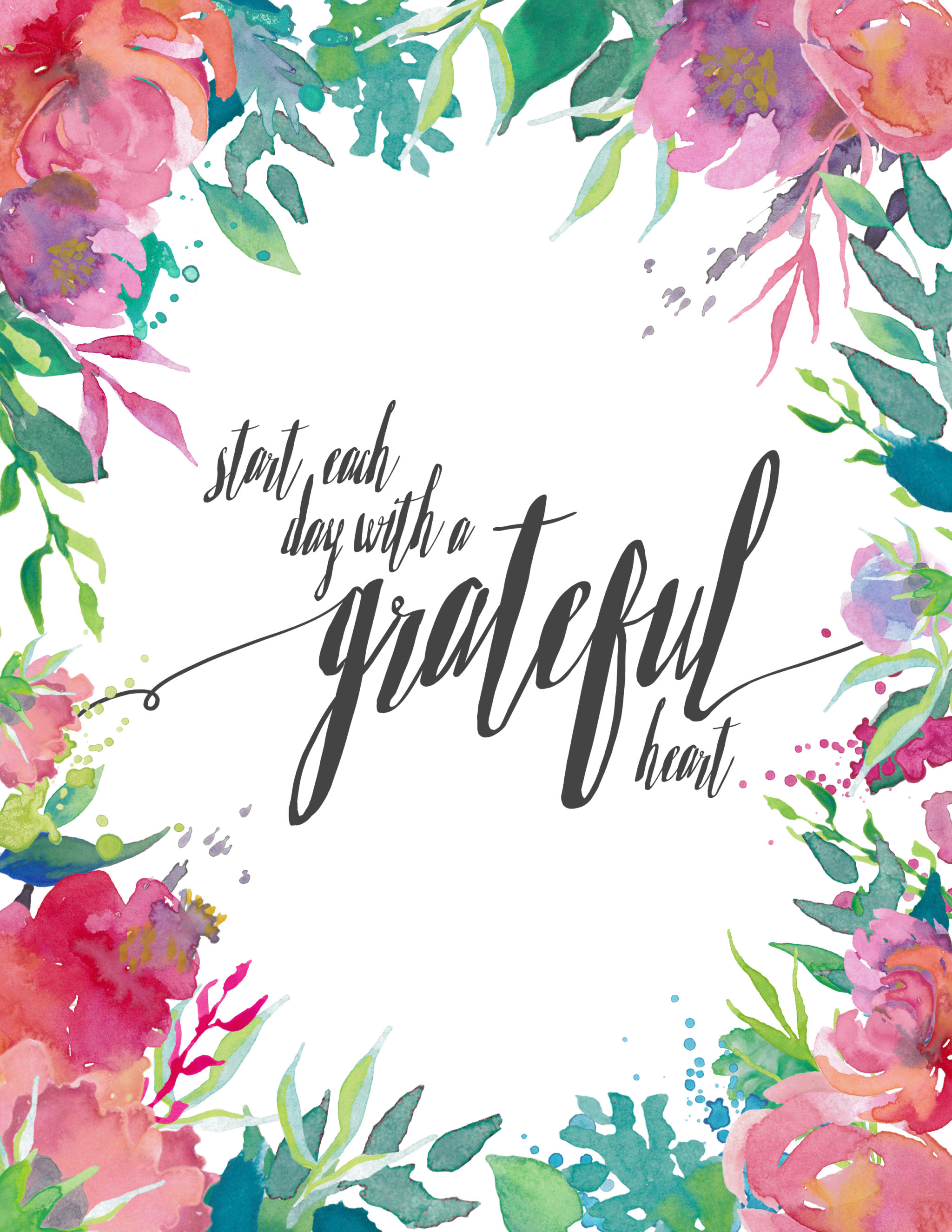 Free Spring Printable Today Is A Good Day
