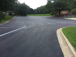 Finished Parking Lot