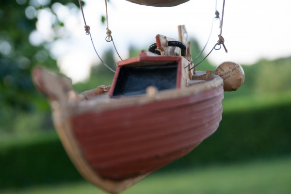 boat-ouroboros – maquette en carton