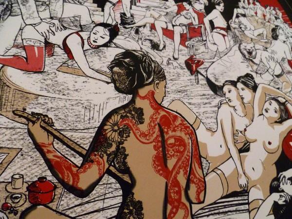 le nouveau bain turc – girl with dragon tatoo
