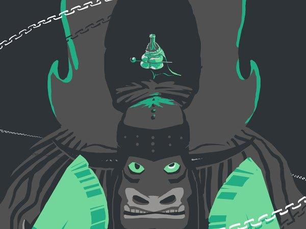 abys - da lyon - graphiste illustration kids manga comics fanart game movie poster