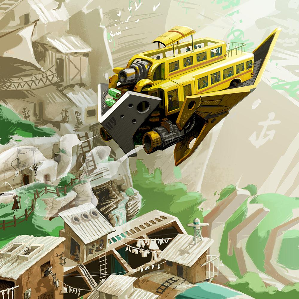 yatch - abys - da lyon - illustration conceptart final