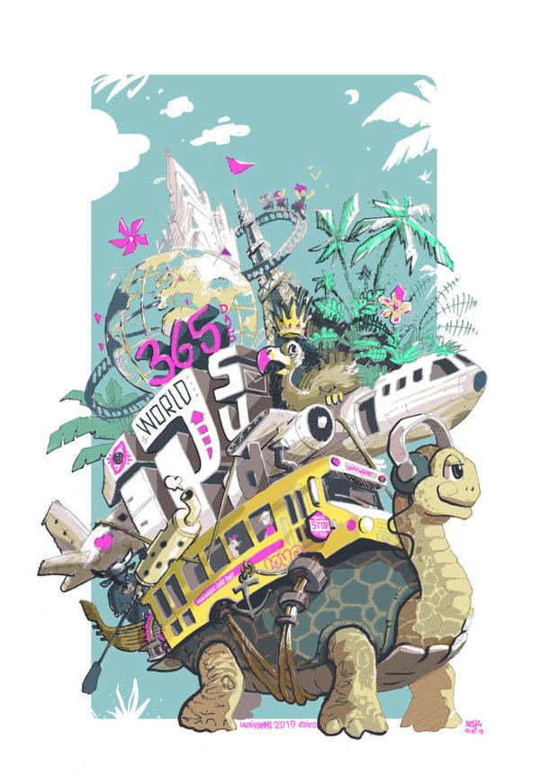turtle-trip – voyage autour du monde
