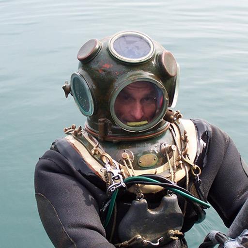 hard hat diving suit