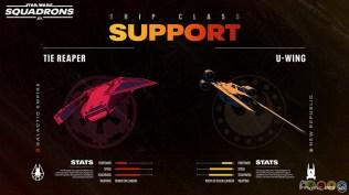 Star Wars: Squadrons Apoyo