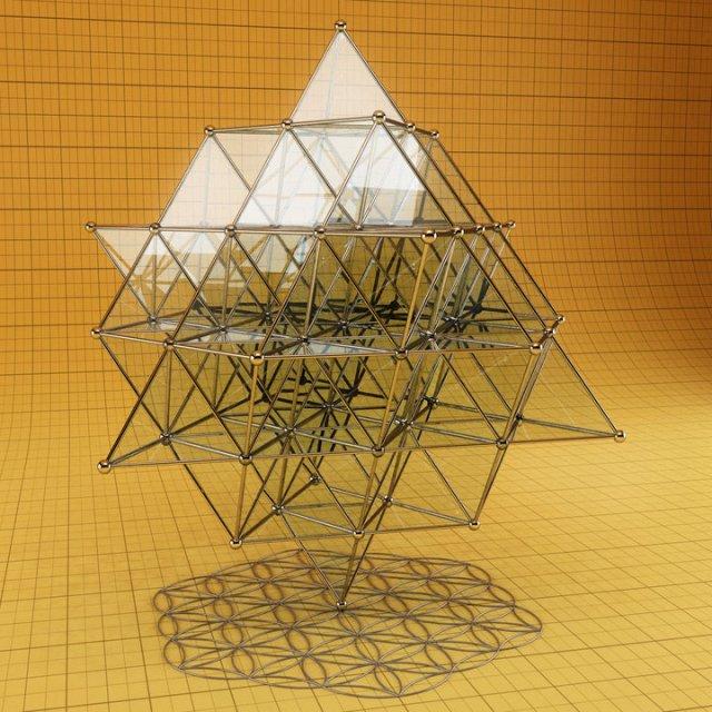 64-tetrahedron-grid