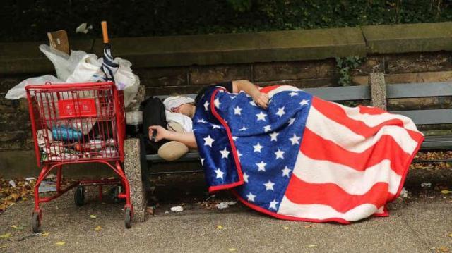 poverty flag