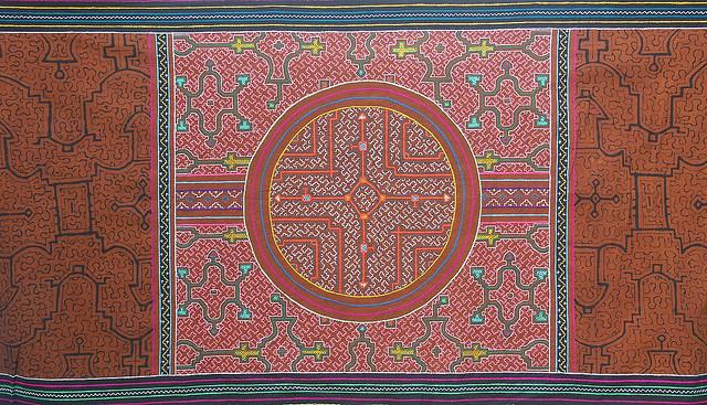 Kene Shipibo textile