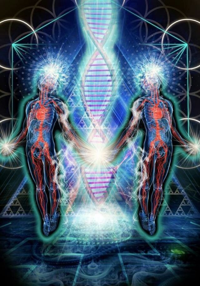 DNA cosmic activation