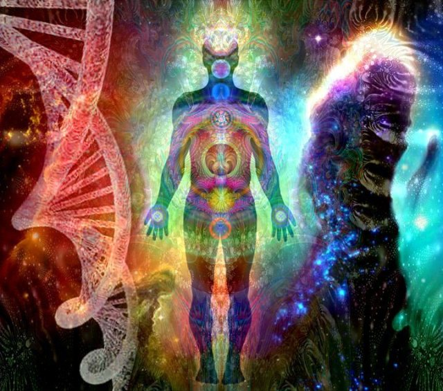 cosmic DNA restructuring