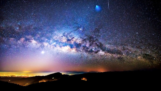 Earth Sky_via lactea