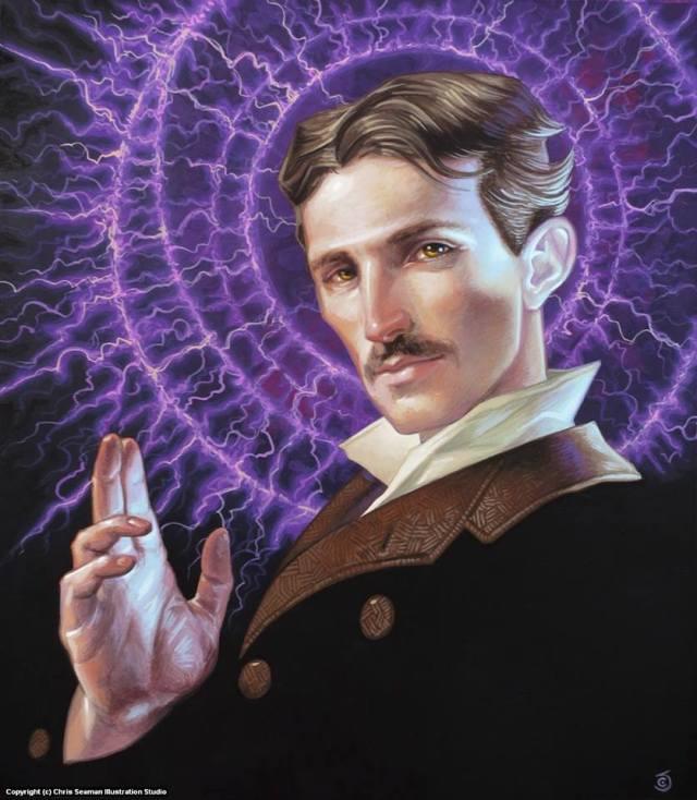 Nikola Tesla saint