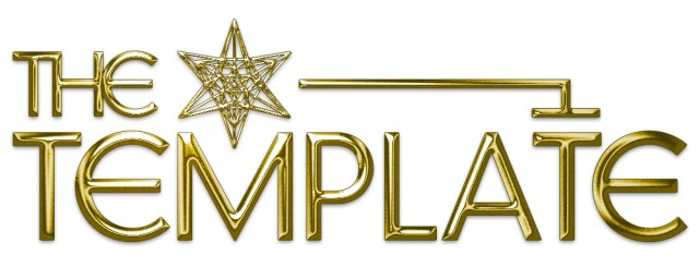 The Template Gold logo
