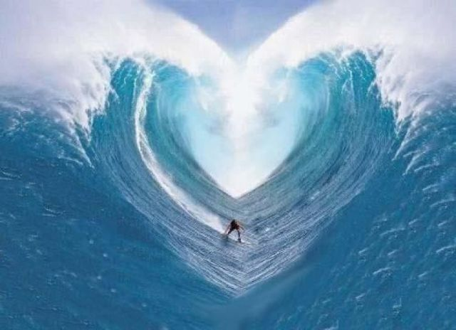 wave of love riding