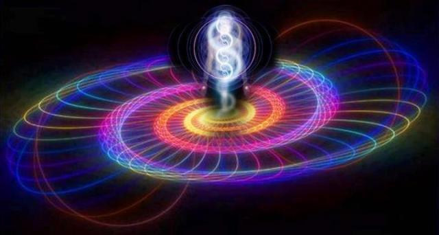 DNA rainbow spiral