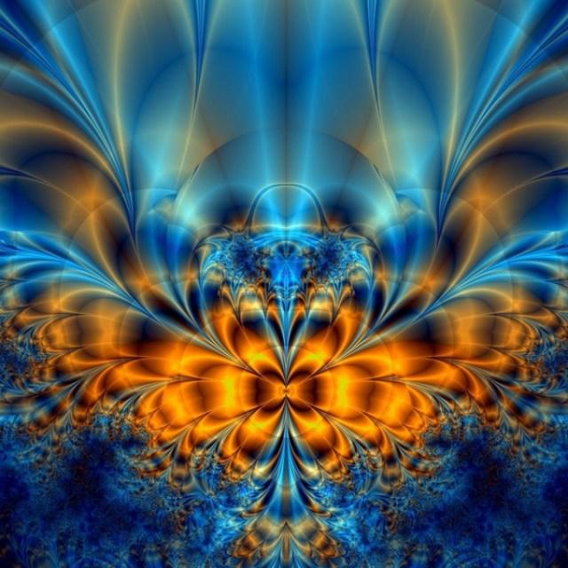 fractal_blue fan