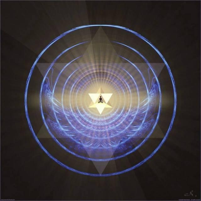 star tetrahedron emanations