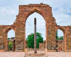 New Delhi Iron Pillar-arch