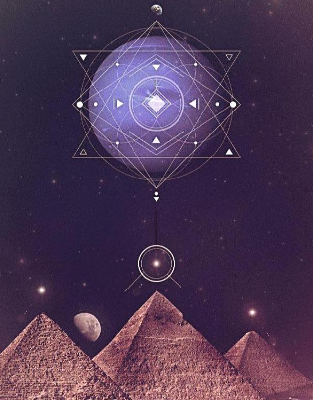 Pyramid geometry alignment