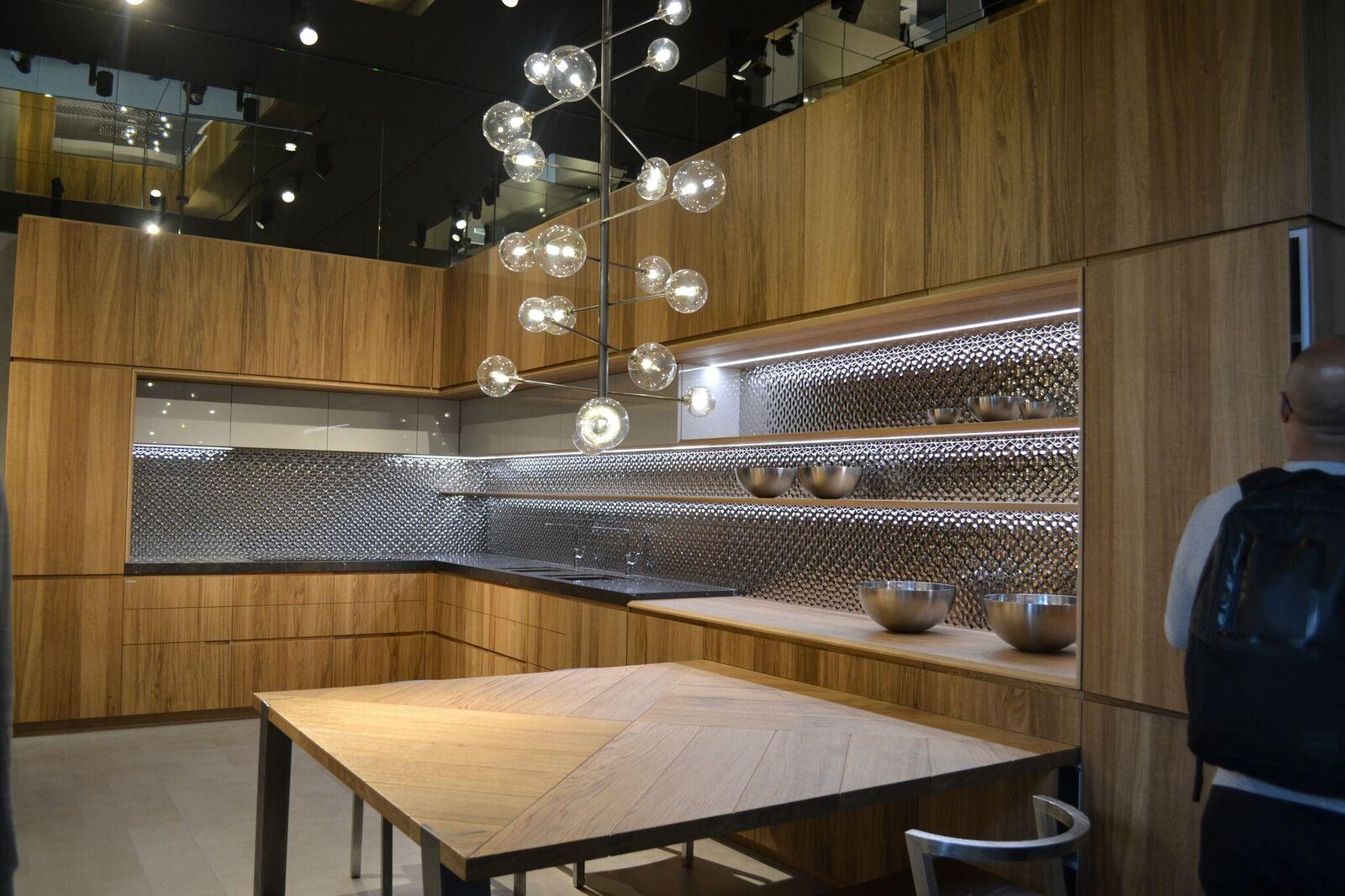 agencement cuisine salon eurocucina
