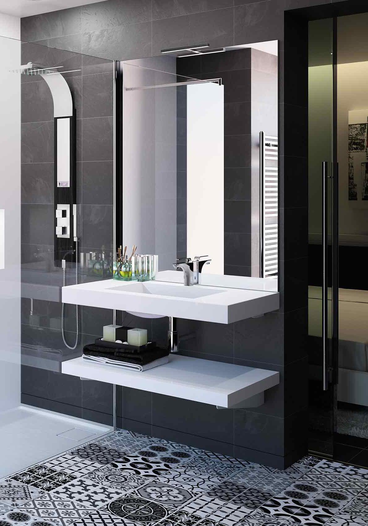 Mobilier de salle de bain Marignane, Martigues, Marseille avec AC Agencement