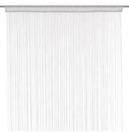 rideau fils largeur 90 cm blanc