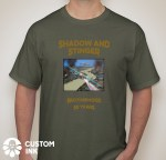 20th T-Shirt-front-green