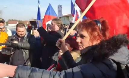 hamáček protest