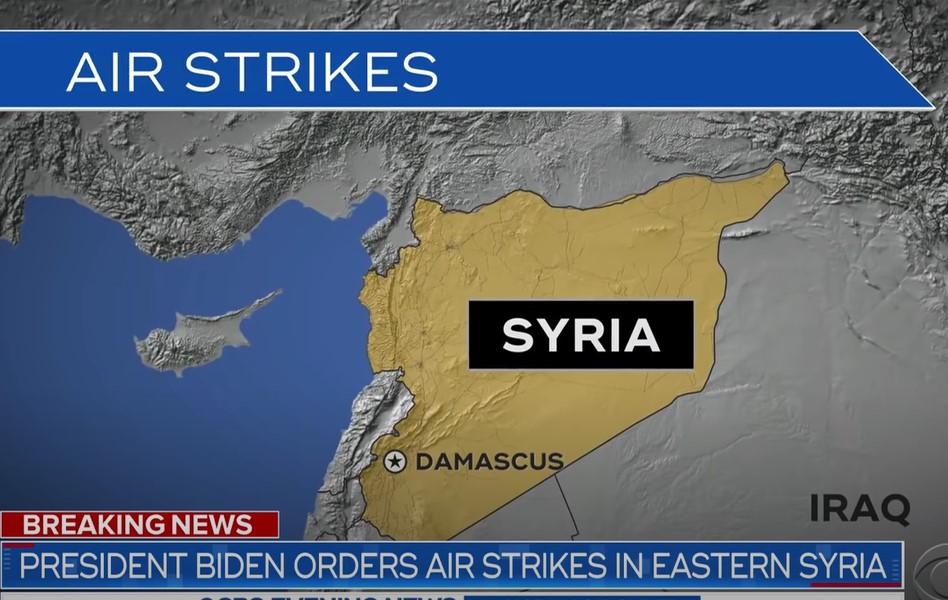 útok sýrie