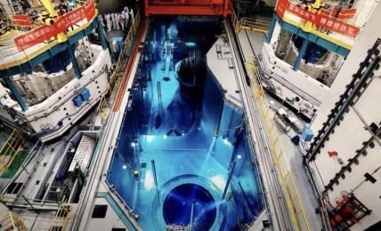 čína jaderná elektrárna