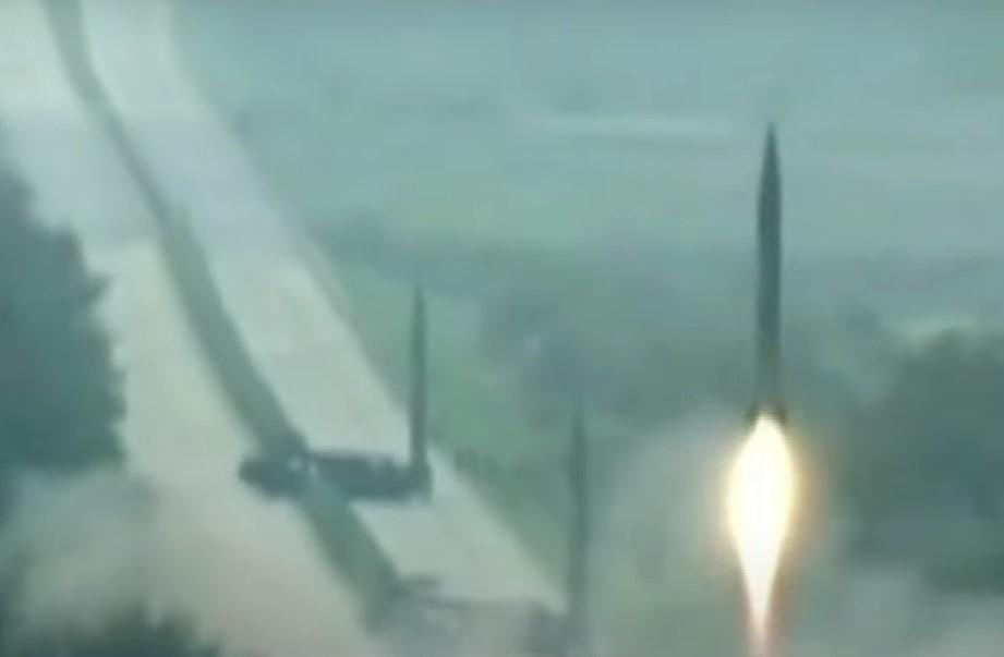 severní korea odpálila