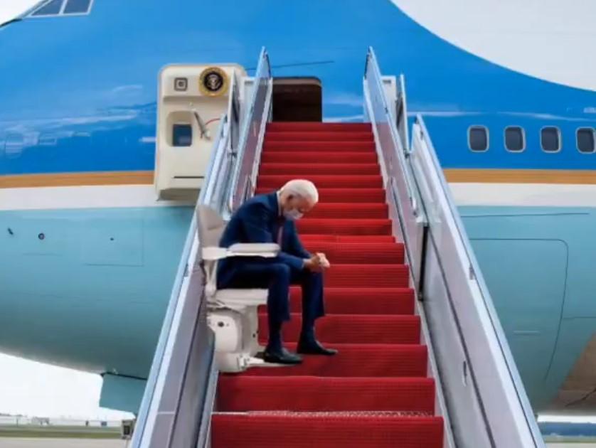 biden letadlo
