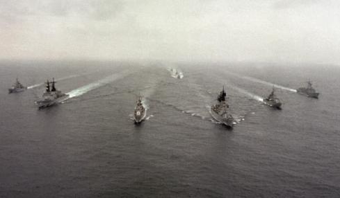 americké lodě ukrajina